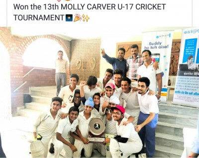 Molly caver cricket